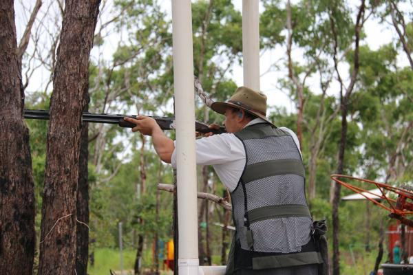 Clay Target Shooting Competition, Darwin